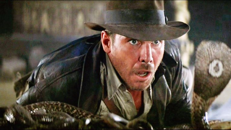 Harrison Ford als Indiana Jones in 'Raiders of the Lost Ark' Beeld anp