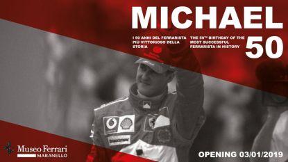 Ferrari-museum eert Schumacher op 50ste verjaardag met speciale tentoonstelling