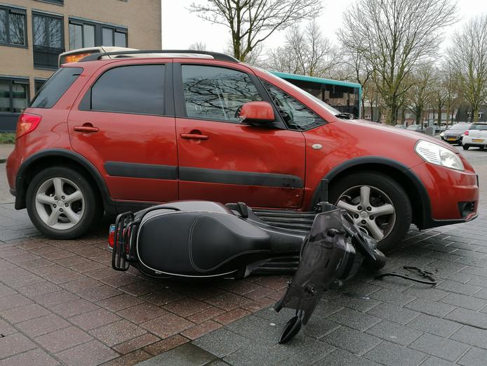 Scooterrijder gewond Dr. Hunert Noodtstraat Doetinchem