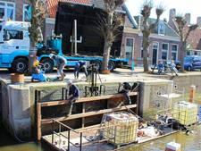 Sluisdeuren terug op hun plaats in Hasselt
