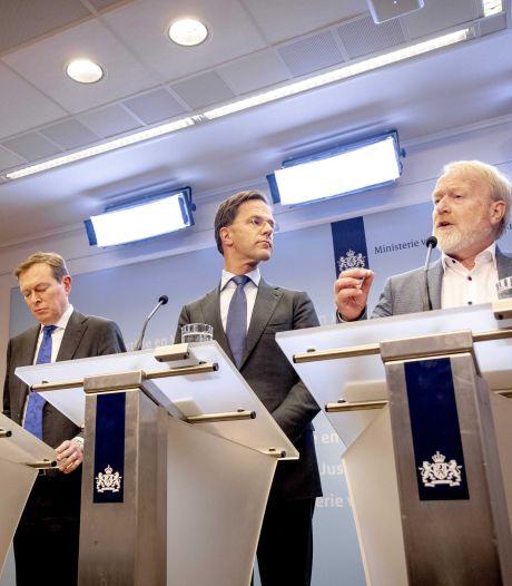 Bestrijding virus gaat nieuwe fase in: Nederlanders moeten thuiswerken, evenementen geschrapt