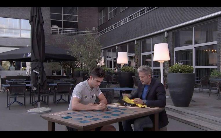 De tafel van Maarten in 'Vive le Vélo'