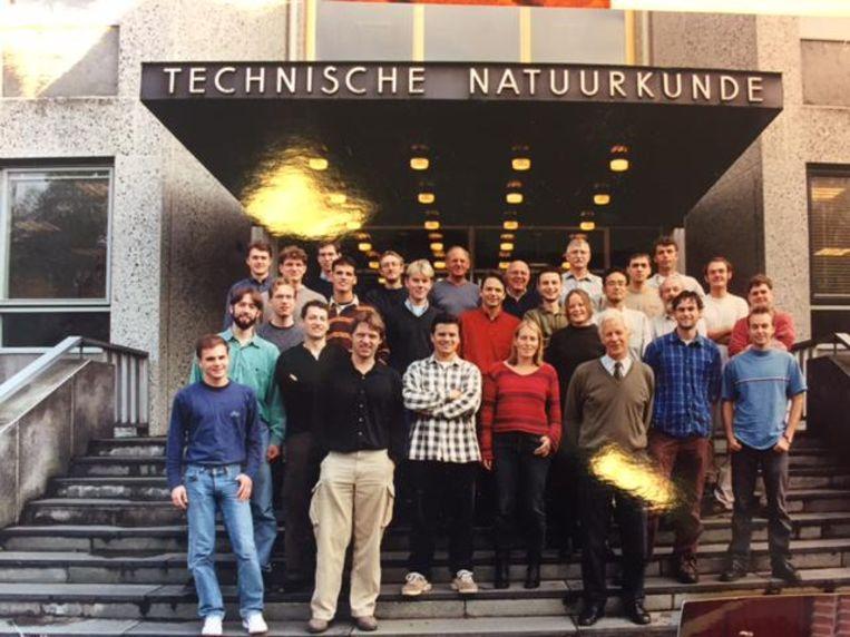 Vakgroep toegepaste natuurkunde in 2005. Beeld