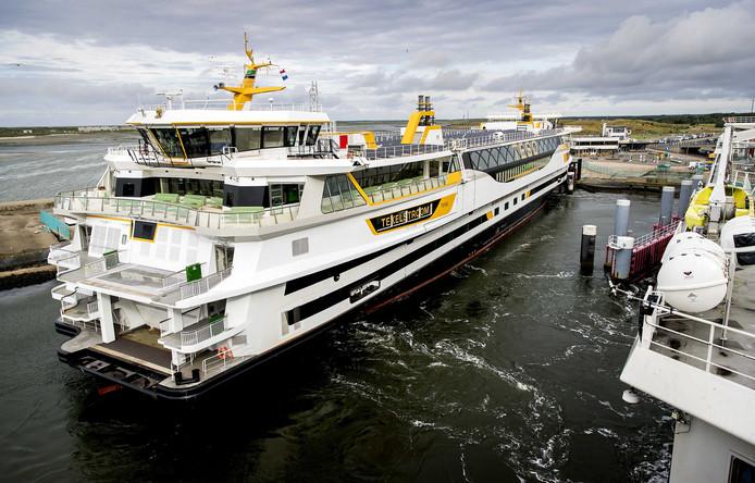 Bij het kantoor van de veerboot in Den Helder werd een vrouw gegijzeld.