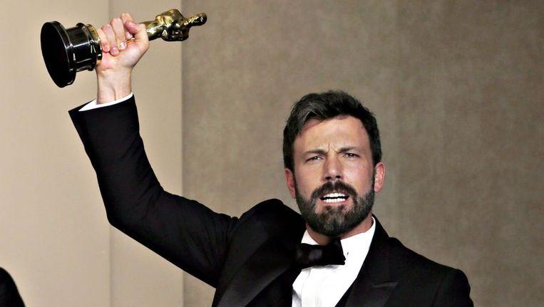 De thriller Argo van regisseur Ben Affleck heeft de Oscar voor beste film in de wacht gesleept. Beeld reuters