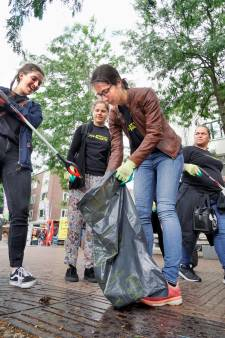 Nijmegen opgeschoond tijdens 'Stop Met Plastic'-dag