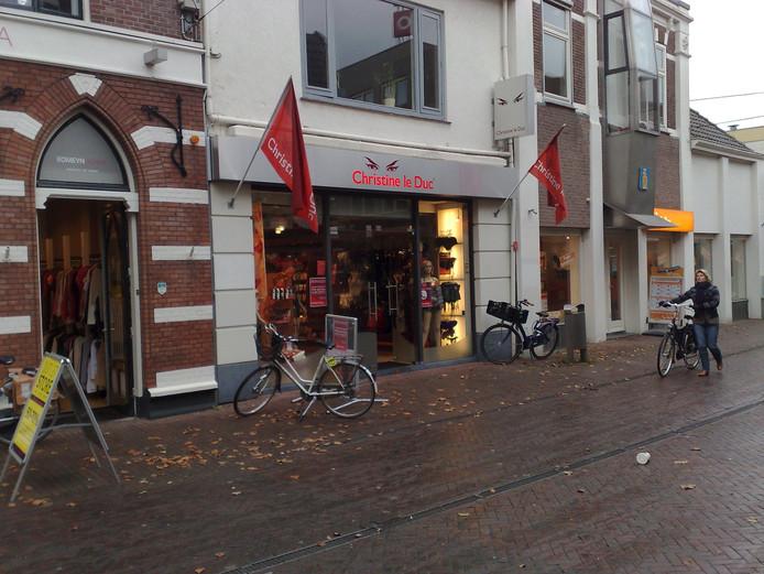 De winkel van Christine le Duc in Ede.
