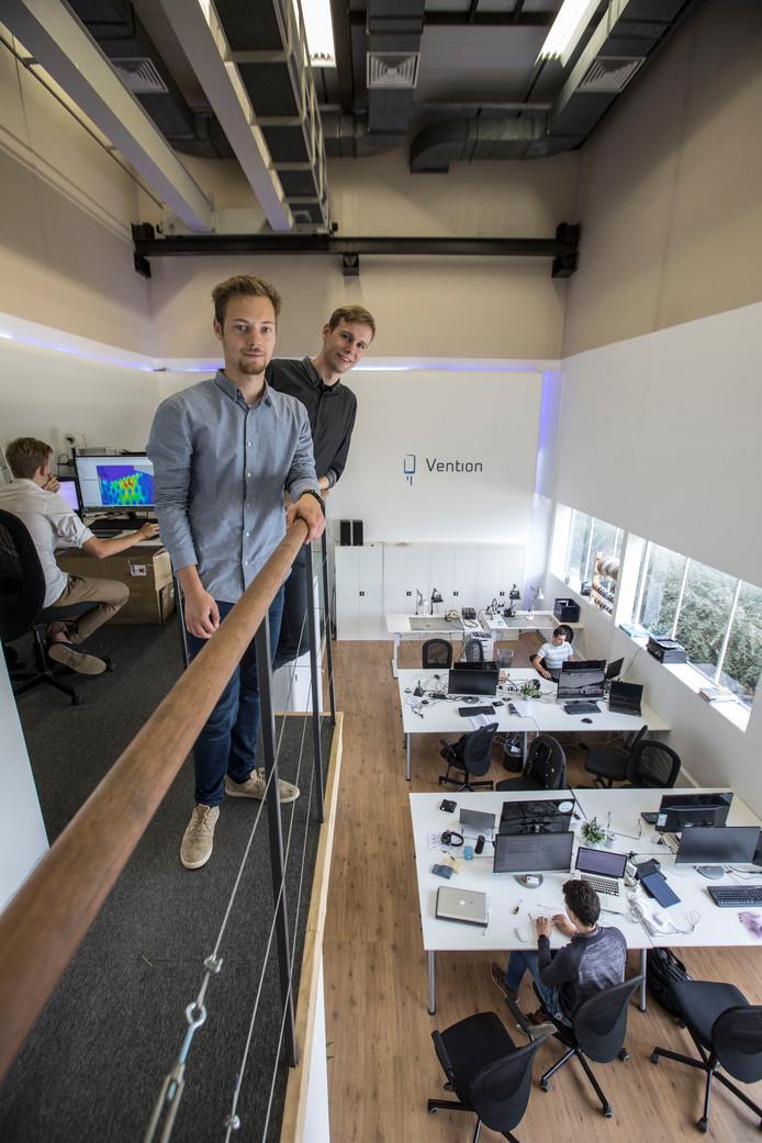 Hans de Penning (rechts) en Thom van Eijk.