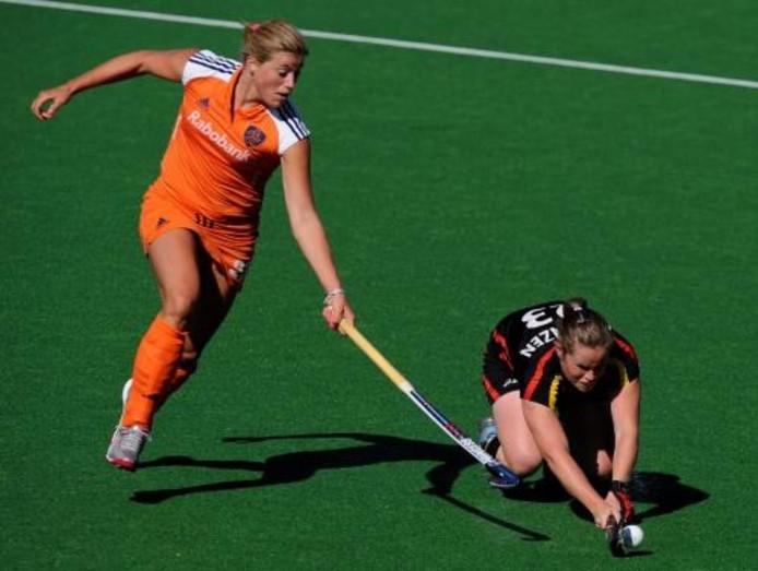 De Nederlandse hockeyvrouwen zijn derde geworden in de Champions Trophy. In de strijd om het brons versloeg Oranje aartsrivaal Duitsland met 5-2. ANP