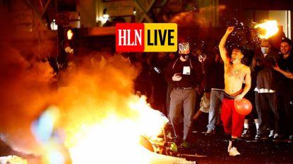 Rellen in de VS breiden zich uit naar het hele land, betogers omsingelen Witte Huis