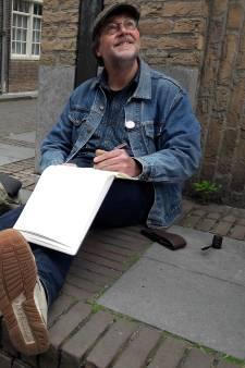 Urban sketchers tekenen herinneringen aan Middelburg