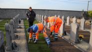 Erepark kerkhof krijgt opfrisbeurt