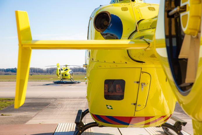 Op vliegbasis Volkel staan nu permanent twee traumahelikopters startklaar