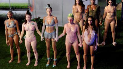 Rihanna stelt lingeriecollectie voor op een diverse mix van vrouwen