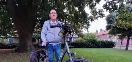 Almeloër Roelof is bijna negentig maar fietst als een jonkie door mooi Twente