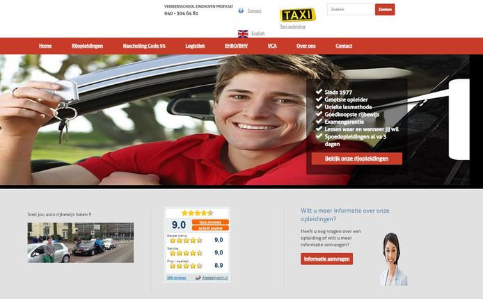 De site van Proficiat Eindhoven
