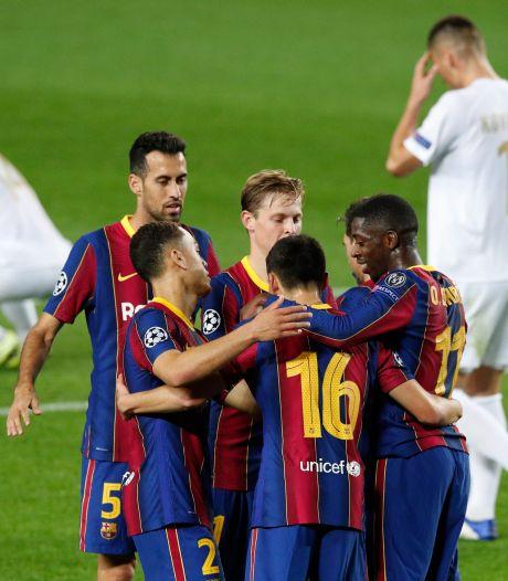 Frenkie de Jong helpt Koeman en Barça met prachtige assist, Lazio doet Borussia Dortmund pijn
