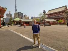 Arnhemse student kan in Tokio 'gewoon' nog een biertje doen