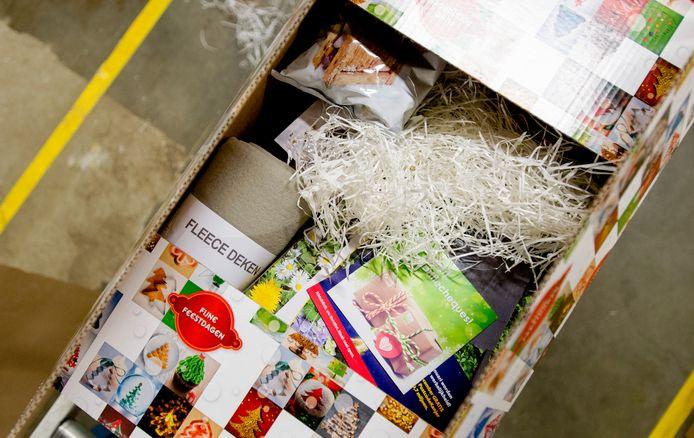 Als het aan de PVV ligt zien de kerstpakketten er in Twenterand dit jaar iets anders uit.