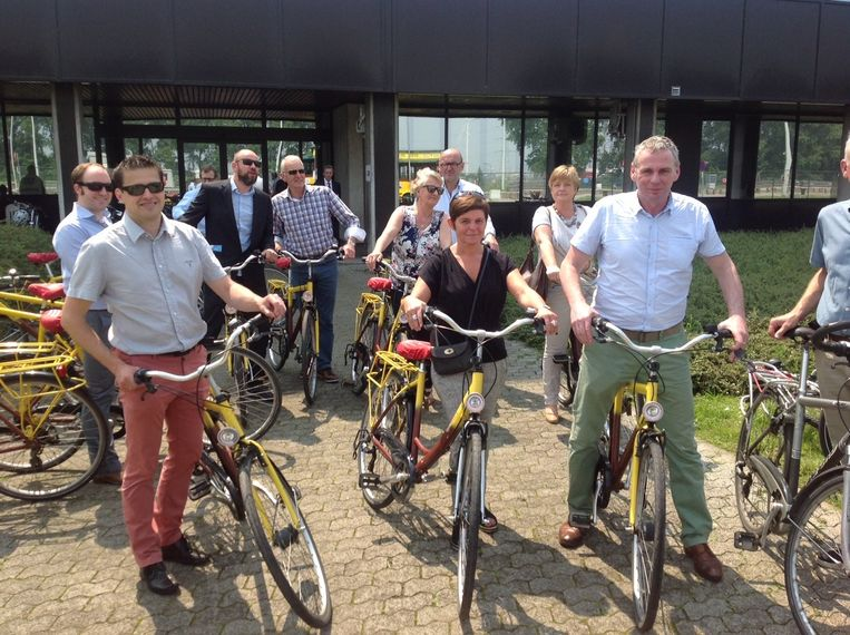 Gisteren vond de startdag plaats van Havenland waarbij de haven per fiets verkend kon worden.