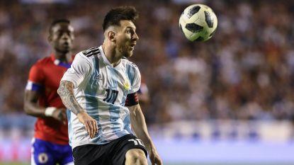 Messi scoort hattrick tegen Haïti