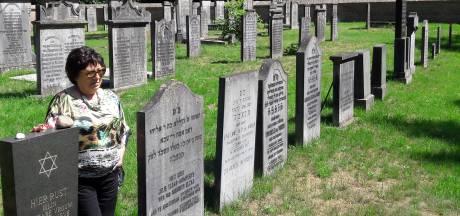 Marijke heeft haar plekje op de Joodse begraafplaats in Oisterwijk al gemarkeerd