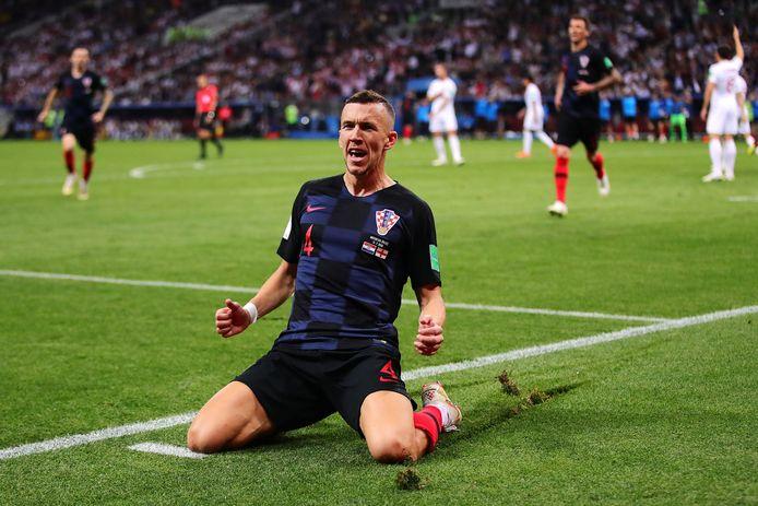 Op de knieën na de 1-1 tegen Engeland.