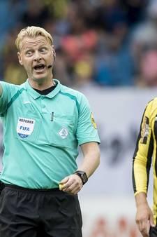 Blom scheidsrechter tijdens SC Heerenveen-PSV
