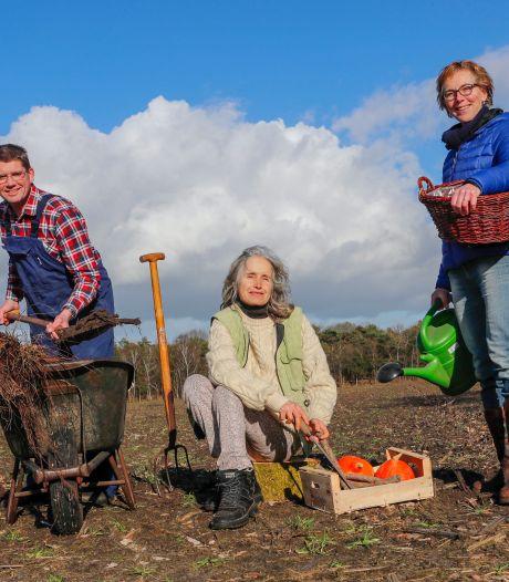 Landgoed of biologische teelt op Gildebos in Waalre?