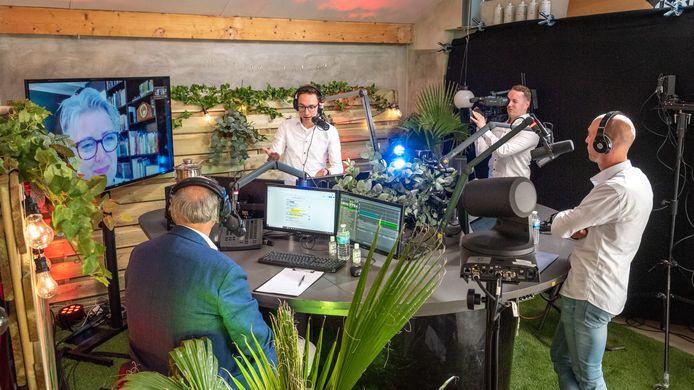 De studio van Enters Doel Live bruist van energie