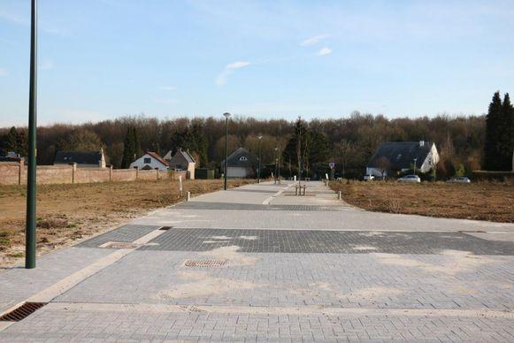 De laatste drie bouwgronden in de verkaveling Kisteveld staan te koop.
