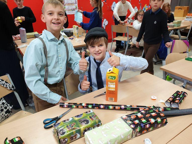 Basisschool Mozawiek viert het 100-jarig bestaan van de school.