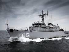 Mijnenjager met naam van Urk verdwijnt door bezuinigingen: 'Vissers waarderen ons werk enorm'