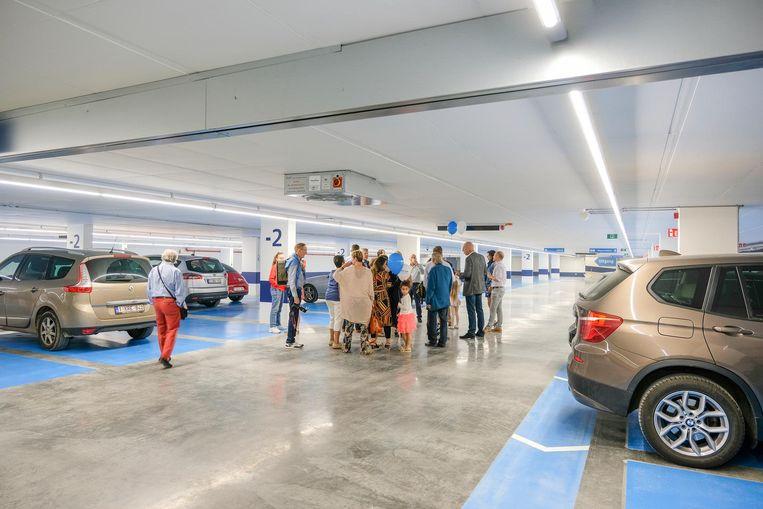 De parking onder de Grote Markt is volgens sommigen een troef, maar volgens anderen dan weer een vloek die net meer hinder zal veroorzaken.