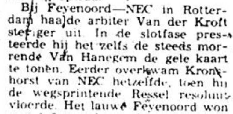Voorpagina Volkskrant 14 augustus 1972 Beeld Archief