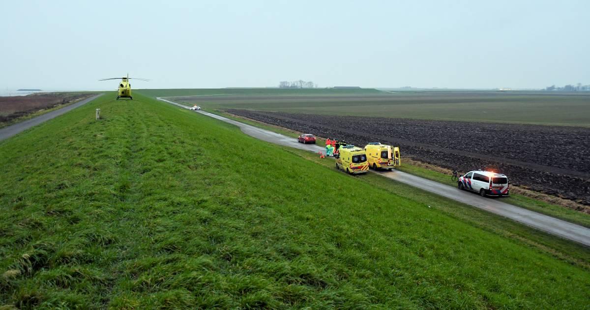 Wielrenner overleden na botsing in Rilland.