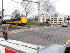 Werk aan spoor in Borne
