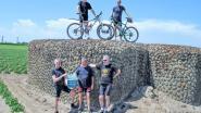 Eerste mountainbiketocht langs bunkers