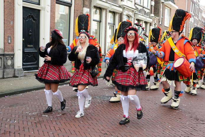 Carnaval 2018 in Gorinchem.