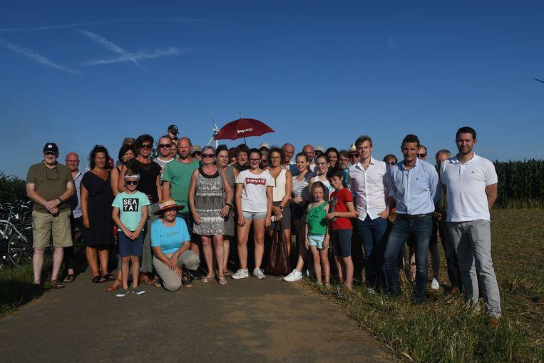 De buurt en enkele lokale politici willen de buurt van Bommels behouden als open ruimte, en willen geen windmolens.