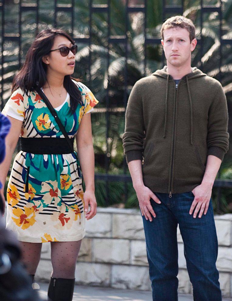 De Zuckerbergjes in burger. Beeld epa