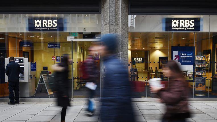 RBS is een van de banken die een grote boete zou krijgen. Beeld epa