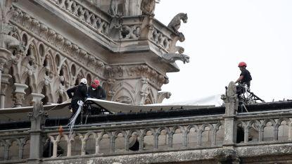 Eerste prioriteit? Vernielde Notre-Dame weerbestendig maken