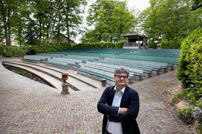 Erik Relou, voorzitter van het openluchttheater in Mariahout, weet dat het 75-jarig jubileum een jaar later gevierd zal worden.