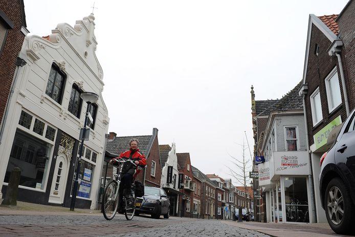 De Steenstraat in Boxmeer.