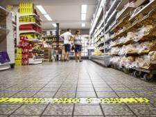 Supermarkten: klant is blind geworden voor coronaposters