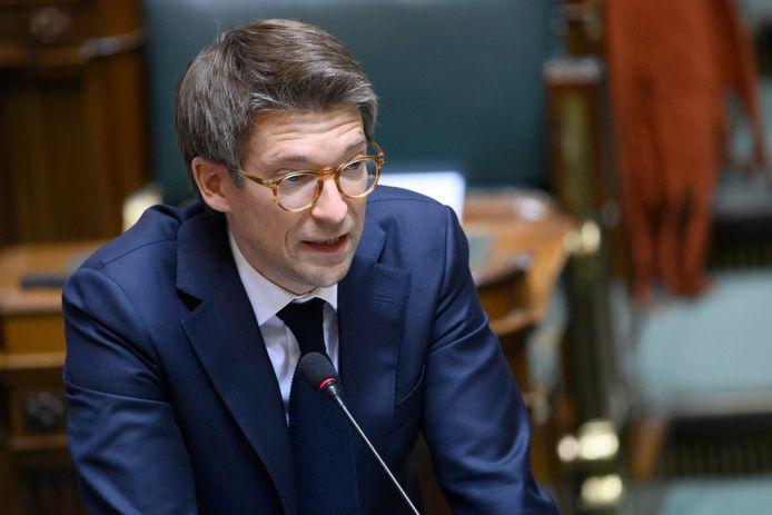 Minister van Economie en Werk Pierre-Yves Dermagne (PS).