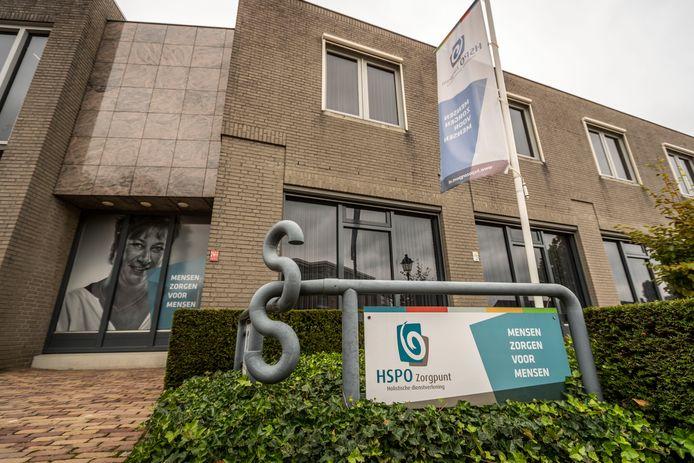 EERSEL - Het pand van HSPO Zorgpunt in Eersel. De zorgorganisatie heeft faillissement aangevraagd waardoor een aantal cliënten nu per direct zonder zorg zit.
