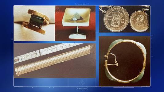 Uit de woning van Ans van der Meer (85) zijn onder meer een bijzondere ring, manchetknopen en munten verdwenen.