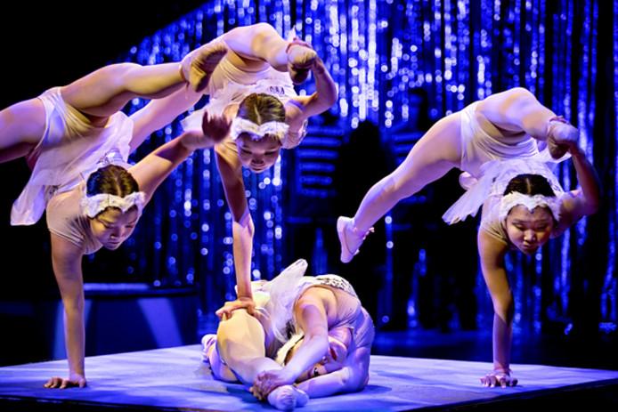 kerstwintercircus in Parktheater Eindhoven